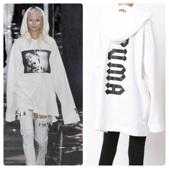 ea6846afa8e3 Fenty Tops - 🔥Fenty X Puma By Rihanna Oversized Lace-Up Hoodie